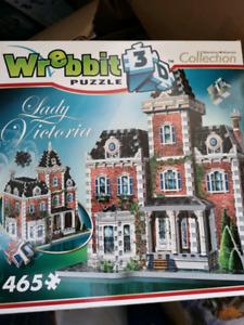 Wrebbit 3d puzzle Lady Victoria puzzle
