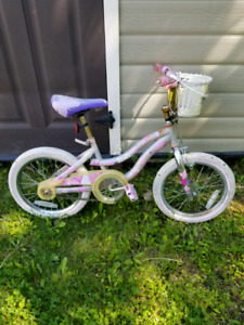 Kids Barbie bike.