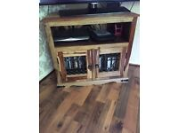 Table & 4 Chairs, Bookshelf, TV cabinet, Nest of Tables & Side board & CD/DVD stand