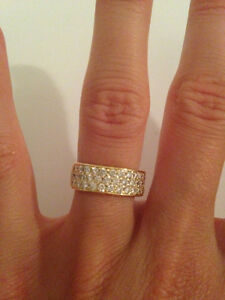 Bague 52 diamants en or 20K