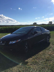 2013 Honda Civic SI Coupe (2 door)