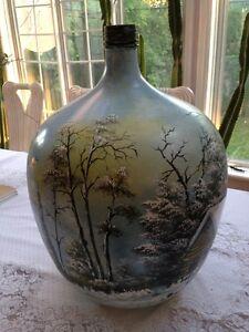 Pot decoratif en verre a vendre