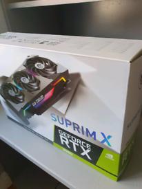 Msi rtx 3080 suprim x graphics card