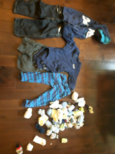 2 year old Boys clothing and suitcase.