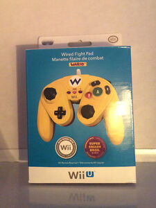 Wii u wired fight pad Wario