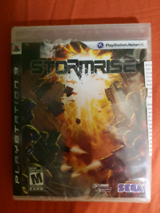 BRAND NEW SEALED PS3 STORMRISE