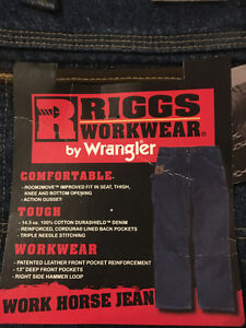 RIGGS JEANS WORKWEAR BY WRANGLER