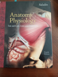 TEXTBOOK -  ANATOMY PHYSIOLOGY, FORM/FUNCTION, FOURTH EDITION