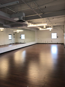 Great 1500 sqft studio available at Keele and St. Clair