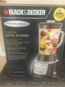 Black & Decker blender - brand new
