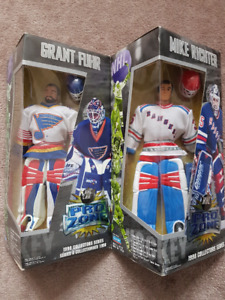 HOCKEY FIGURES - PRO ZONE MIKE RICHTER AND GRANT FUHR