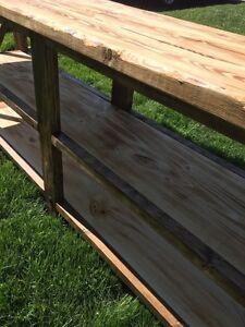 •• WoodWorth Sofa Table ••