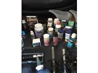 Complete marine or coral tank with sump