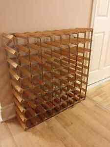 Support à bouteille de vin (72 bouteilles)