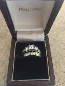 1.5 ct Wedding Ring Set: Appraised October 5th 2016 for 6100.00