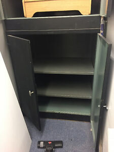 2 Steel cabinets