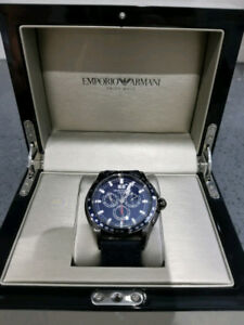 Blue - Emporio Armani Swiss Made Watch