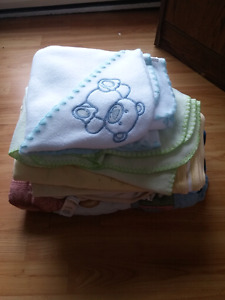 Baby blanket lot all 9 for $10