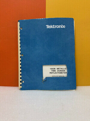 Tektronix 070-6267-02 1502b Metallic Time Domain Reflectometer Service Manual