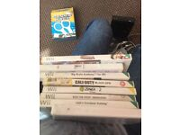 8 Nintendo Wii games, well used but still working look@@!!