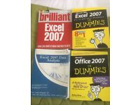 Excel books for sale