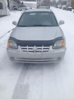 2003 Hyundai Accent Coupe (2 door)-Extra clean .