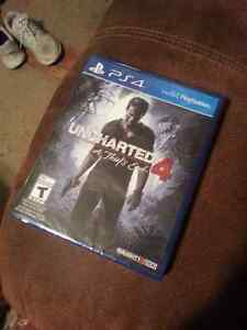Uncharted 4 for ps4.
