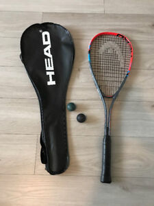 Head Squash Racket with cover - Brand New