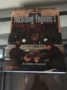 Recording engineer book