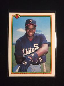 FRANK THOMAS ... 1990 Bowman ... ROOKIE CARD ... graded BCCG 10