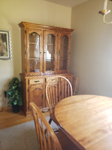 Solid Wood Dining Room set for sale