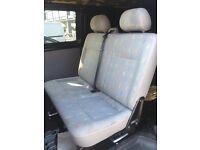 VW transporter T5 quick release rear seats
