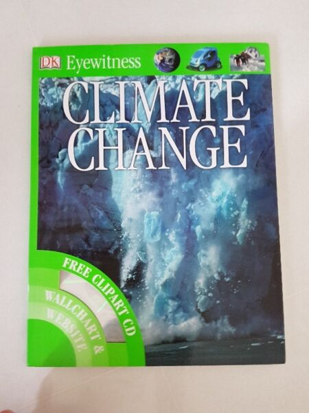 Hardcover Book on Climate Change