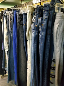 Jeans various sizes $10 Men & Woman (some with tags)