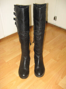 "Steve Madden ""Miidori"" High Leather Boots  Size 7"
