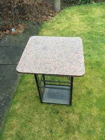 Garden table tops