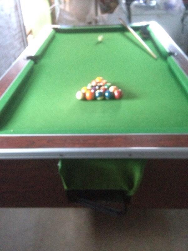 Full Size 7x4 Pub Style Pool