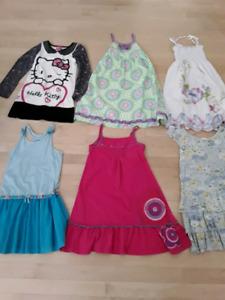 Robes grandeur 6/7 ans , Gymboree, Mexx ...