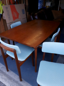 Teak Table& Chairs