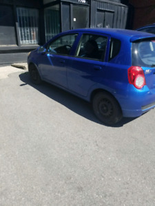 Chevrolet aveo LT 2009 selling for parts or to mechanic $ 700