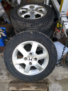 4 Tire and Rims for sale 195-65 R15