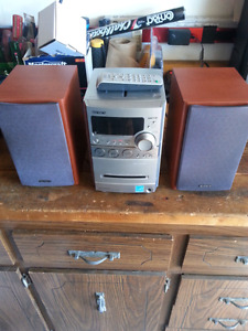 Song cd and tape player