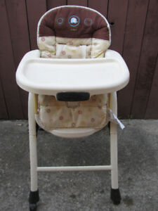 CARTERS OSHKOSH ADJUSTABLE HIGH CHAIR - EXCELLENT TO MINT CONDIT