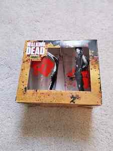 The Walking Dead pint glasses. Unopened.