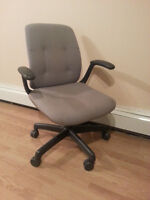 Computer Desk Chair on Wheels -- $10