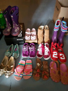 Girl brand name shoes lot