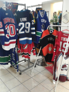 Jerseys and collectibles