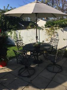 set patio et balancoire
