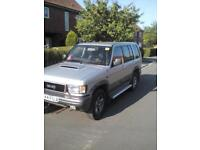 Isuzu Trooper 3.1TD Citation 96 p reg 109k miles 10 months MOT 5 doors