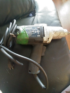 Pre-Owned Mastercraft Impact Wrench Gun.